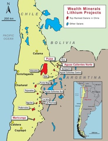 Image result for Chile & lithium exploration