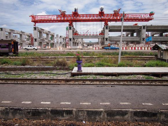 Bang Sue Central Station under construction (September, 2016)