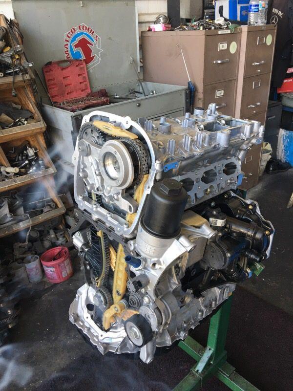 Volkswagen Cc Passat 2 0t Ccta Rebuild