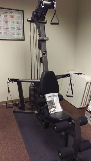 Parabody Smith Machine And Free Weights For Sale In Port