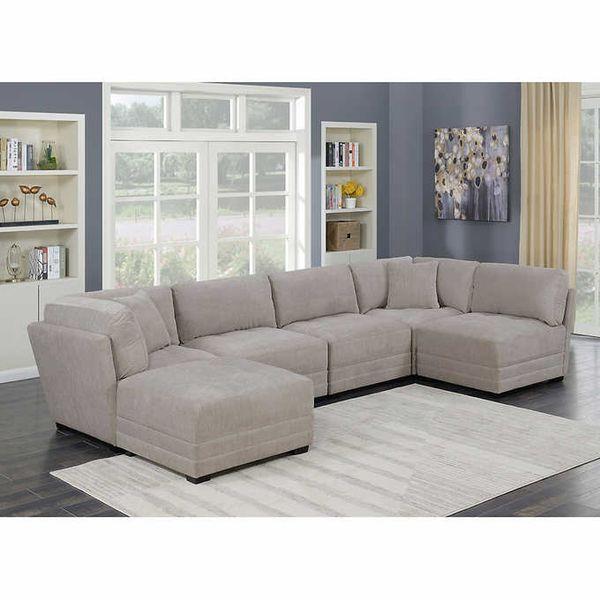 costco 6 piece modular sectional sofa