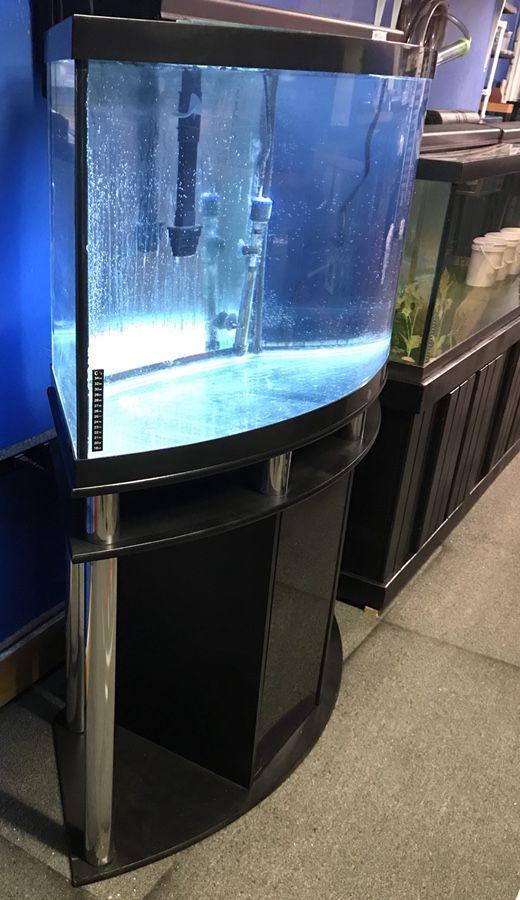 Corner Front Aquarium Bow