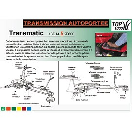 Autoporte Ramassage Intgr MTD LN 155 PAD Plantes