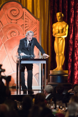 Two-time Oscar®-winning actor Robert DeNiro speaks as part of the award presentation to Irving G. Thalberg Memorial Award recipient Francis Ford Coppola during the 2010 Governors Awards in the Grand Ballroom at Hollywood & Highland in Hollywood®, CA, Saturday, November 13.