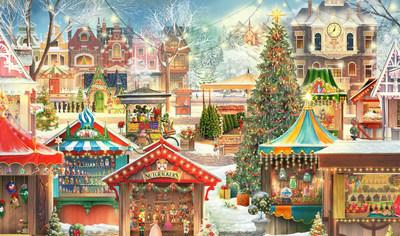 New Jacquie Lawson Christmas Market Advent Calendar Released