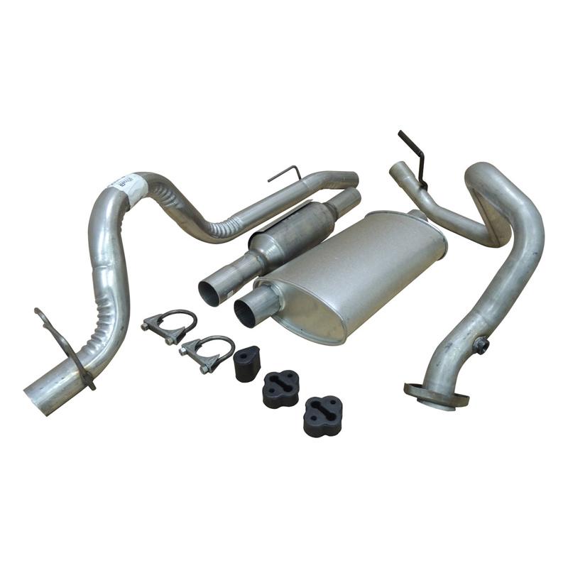 52018177k exhaust kit for jeep wrangler yj 2 5 l amc 150 2464 ccm 78 89 kw petrol rbs handel