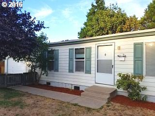 Private and bright with detached 2 car garage.  Open floor plan on larger lot.  Large back yard includes raised deck with garden area and shed.  Large Deck with fresh paint. Main bathroom recently remodeled.  Great first time home or investment opportunity!