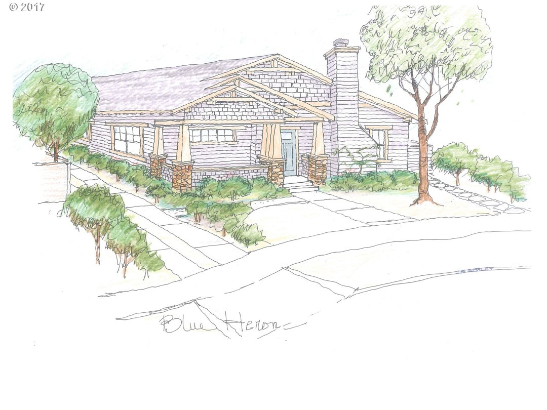 New construction by Mark Adkins in the Bridge Way PUD! The Blue Heron is a Craftsman Bungalow featuring unique Craftsman details throughout, hardwood flooring, granite counters, SS Appliances, curbless showers, custom patio fencing & covered front porch. Option to add 3rd bath creating a second master suite. Sample pictures are examples of builders past work.