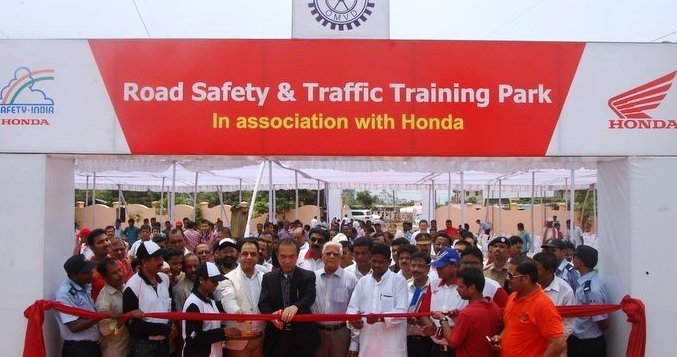 Honda spreads road safety awareness through