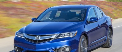 2016 Acura ILX HD Blue wallpapers Download