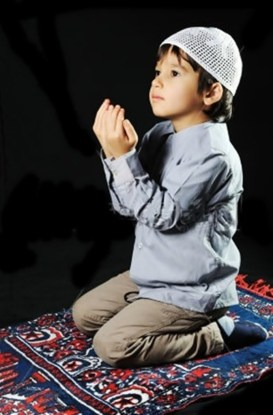 Muslim Girl Praying Stock sPhotos