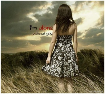 alone-girl-way-love-images