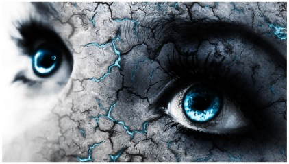 Blue eye Remarkable Graphic Wallpaper