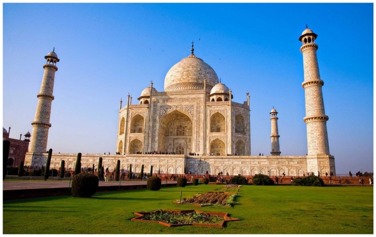 Taj Mahal Agra Hd Wallpaper