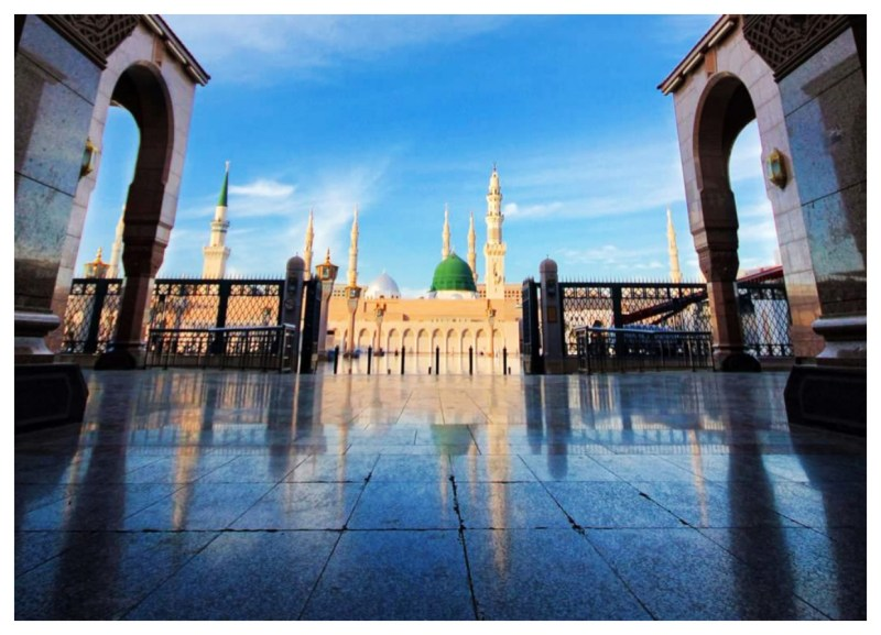 Pictures of Madina Sharif