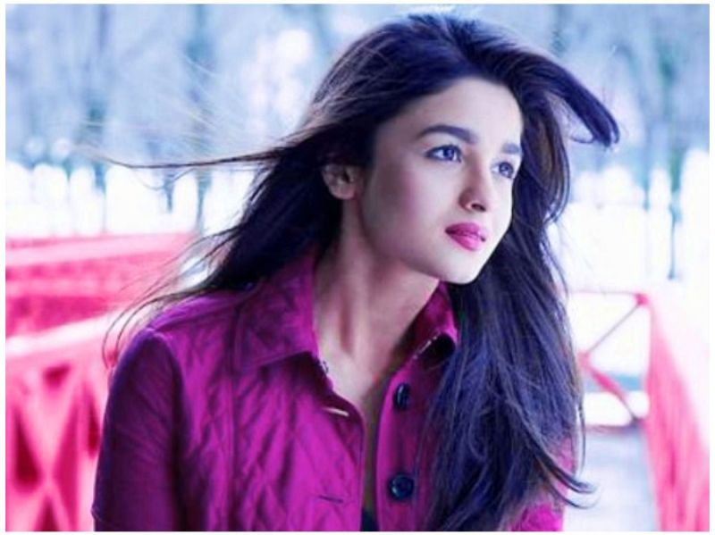 Hairstyle of Alia Bhatt Hd Wallpapers