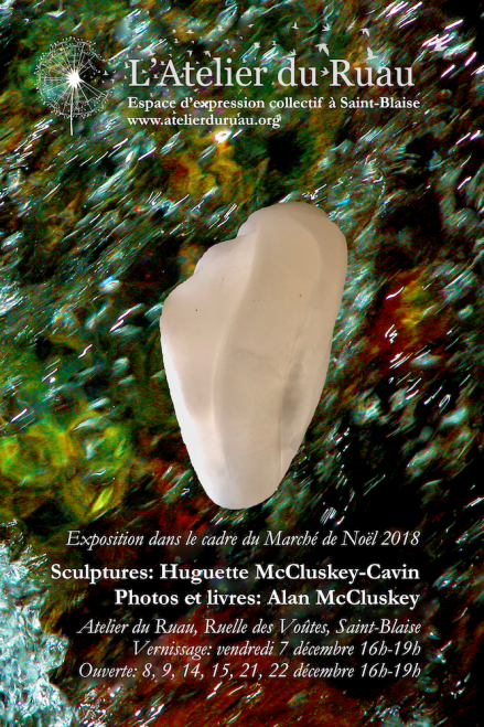 Sculptures and photos by Huguette and Alan McCluskey