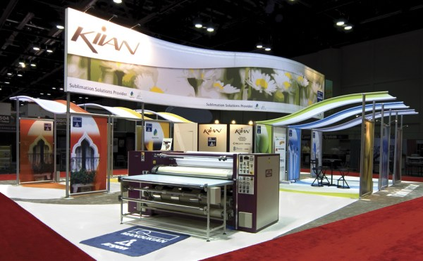 Trade Show Graphics - Exhibit Booth Design