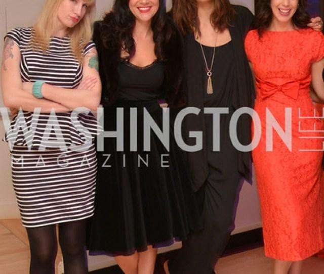 Jenn Tisdale Kristen Guiter Svetlana Legetic Rachel Cothranwashington Life Magazine Hosts