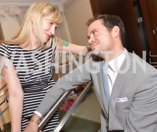 Jenn Tisdale Leo Schmid Washington Life Magazine Hosts The 8th Annual Young And The