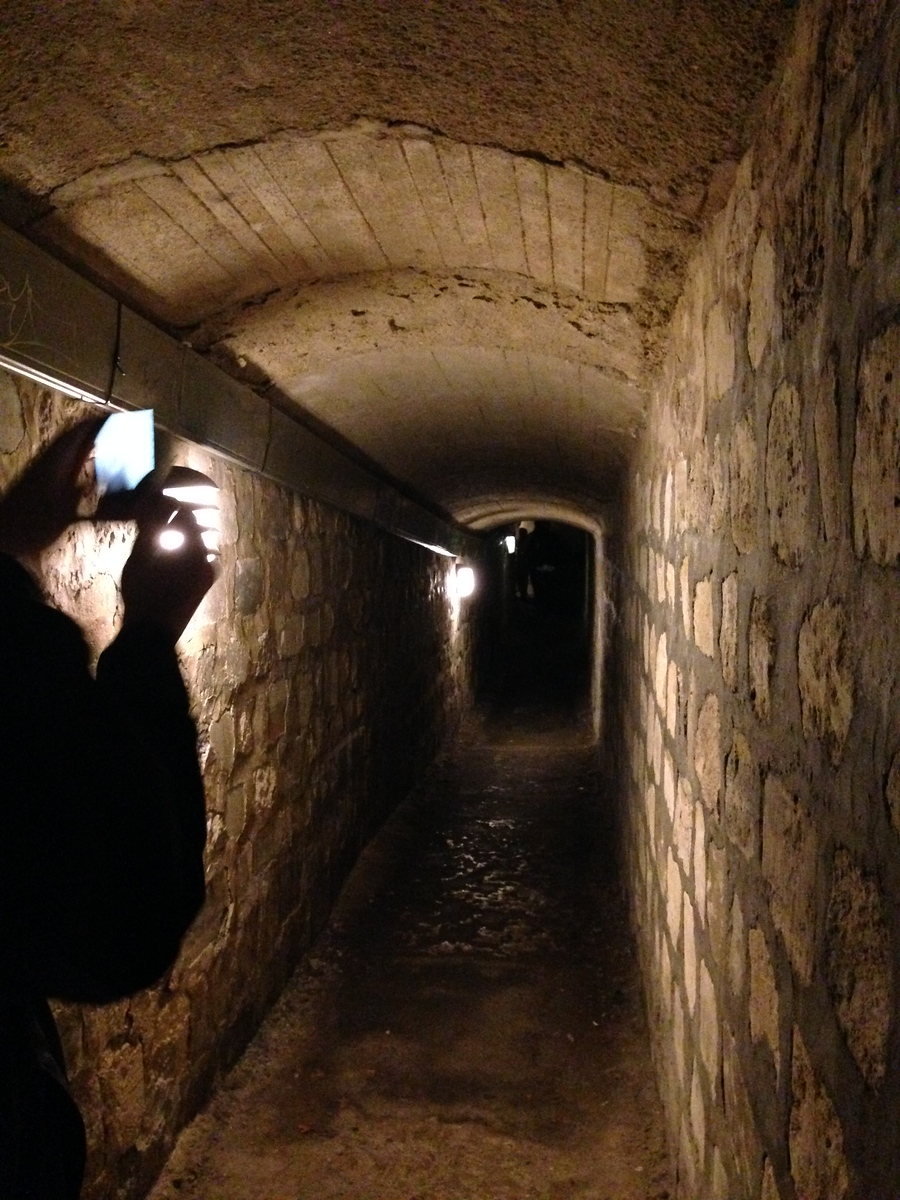 The Dark, Damp, Spooky Tunnels of the Catacombs of Paris, France