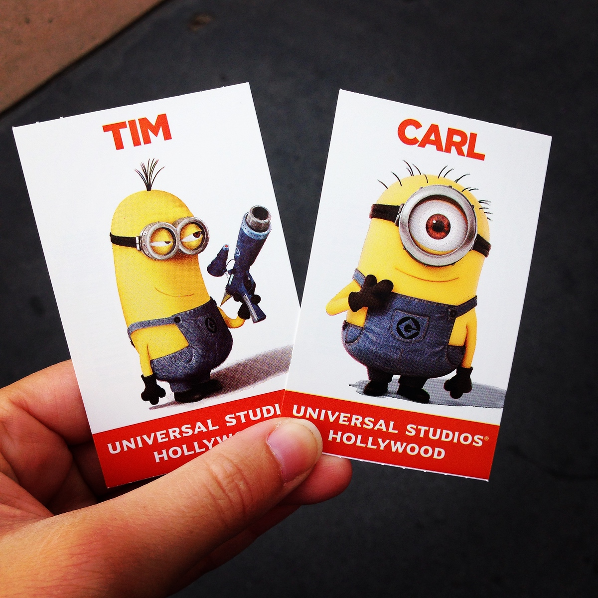 Despicable Me Minions on our Universal Studios Hollywood Park Tickets