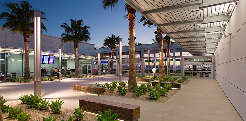 The Modernized Open Airport Layout of Long Beach Municipal Airport in California