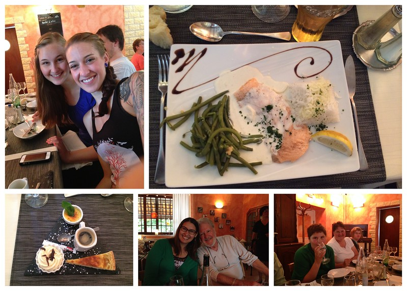 Lunch at Restaurant Belle Epoque in France