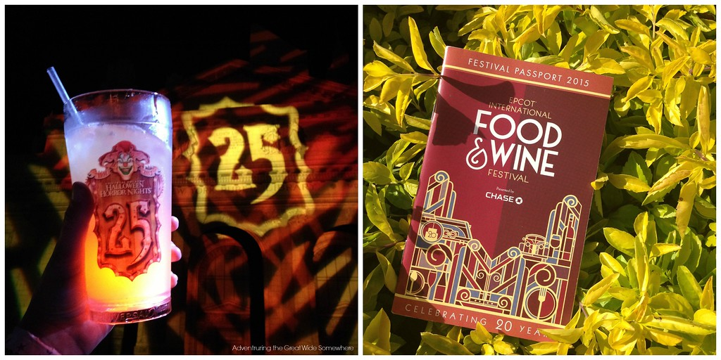 Halloween Horror Nights and the Epcot Food and Wine Fest, Two of Orlando's Top Events