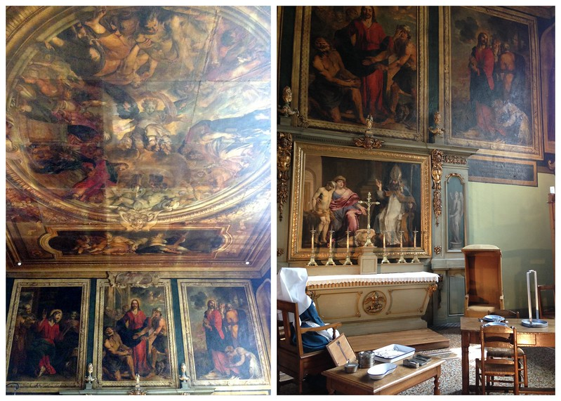 Paintings in the Salle Saint-Hugues, A Treatment Room for the Wealthy in the Hospices de Beaune
