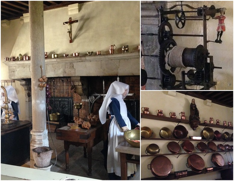 A Peek at the Kitchen in the Beaune Hospital in France