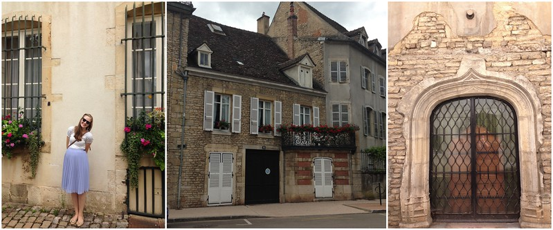 Exploring the Beautiful City Streets of Beaune, France