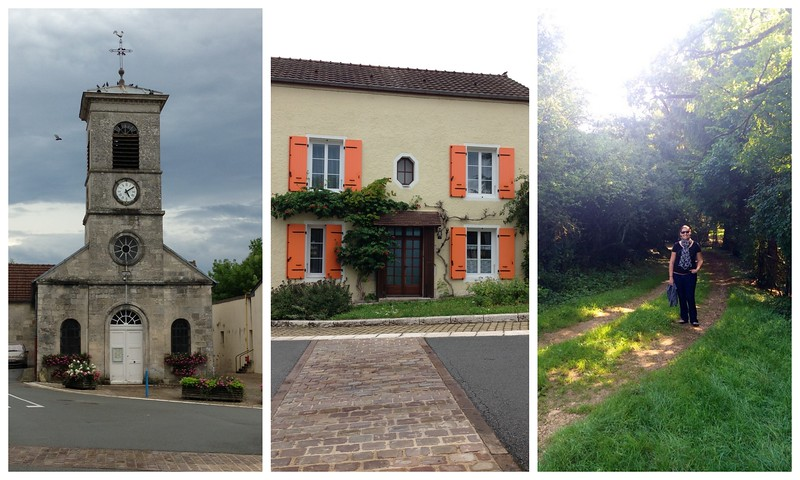 Enjoying the Beautiful Old Neighborhood Buildings of Chamarandes-Choignes, France