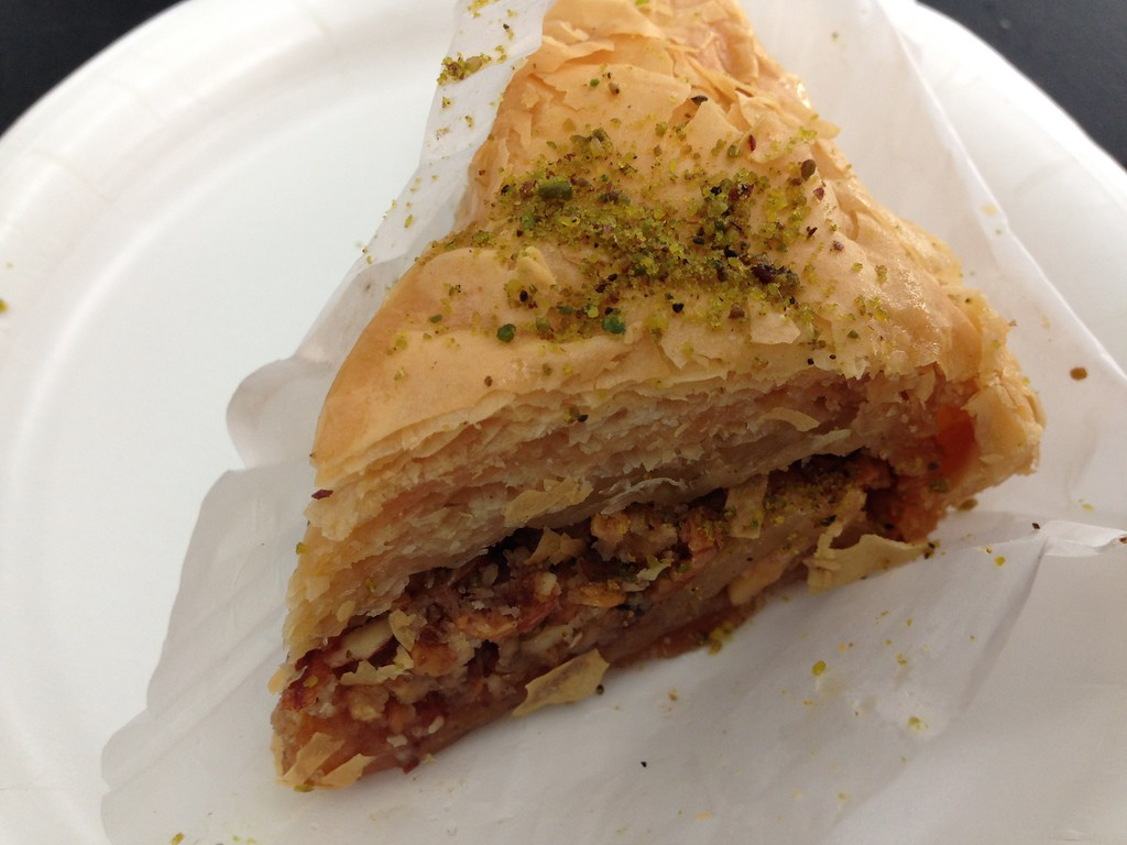 Pistachio Baklava from the Taste of Marrakesh Outdoor Kitchen at the 2015 Epcot International Flower and Garden Festival
