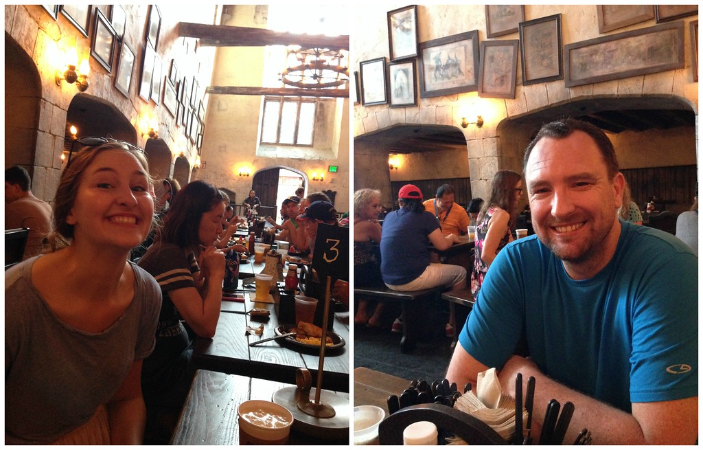 Breakfast at the Leaky Cauldron in Universal Studios Diagon Alley