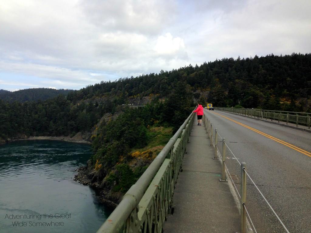 The Bridge Over Deception Pass, Washington State
