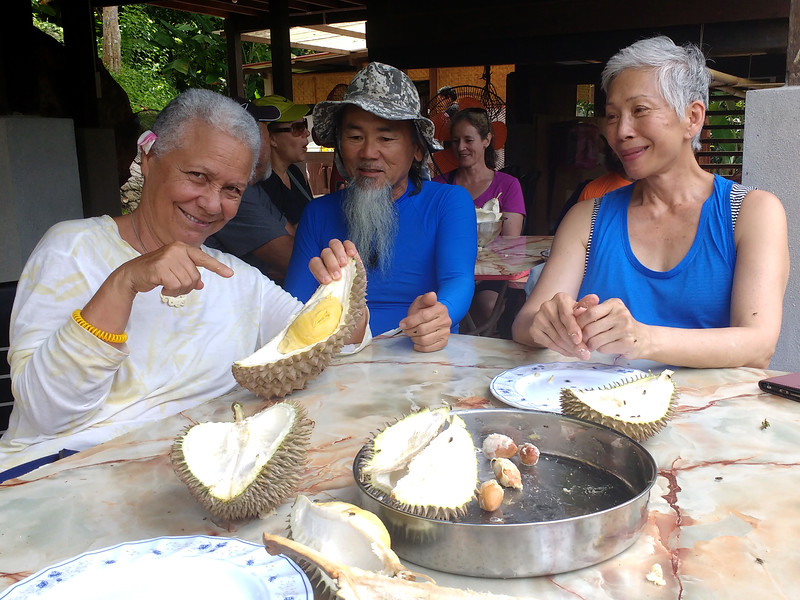 durian together