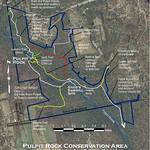 Pulpit Rock Conservation Area Map