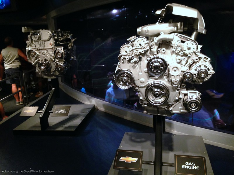 Gas and Turbo Charged Engines at Epcot Test Track