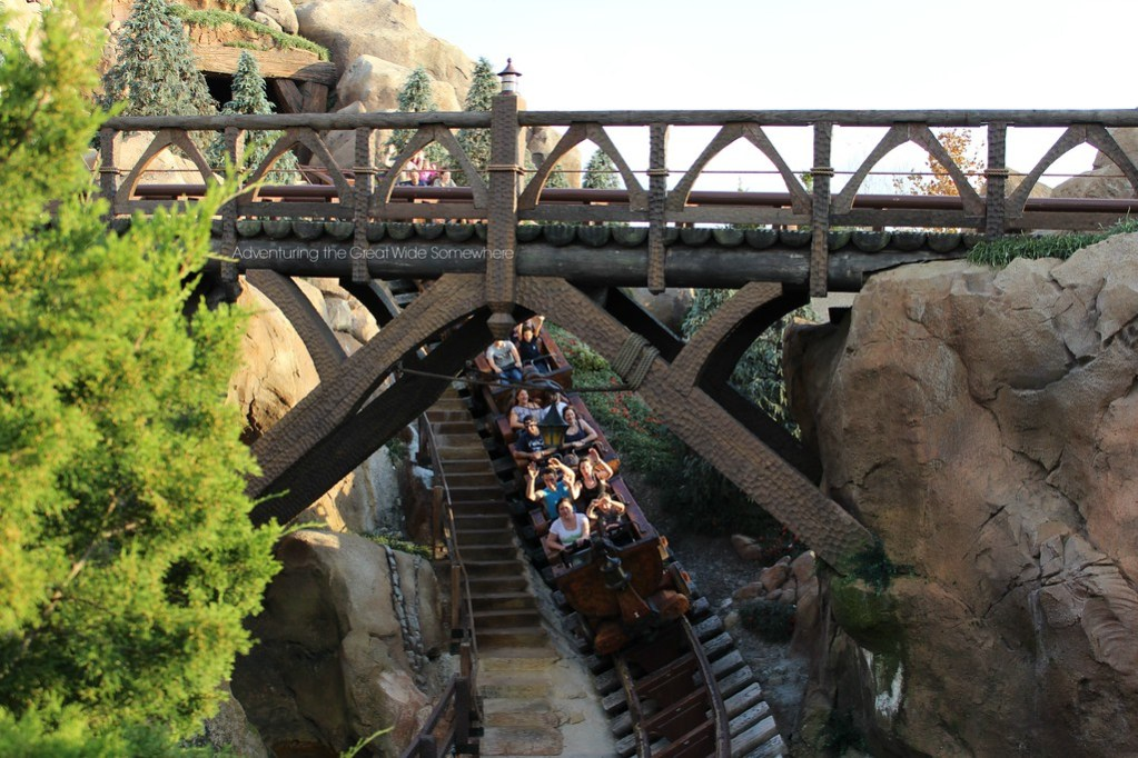 Rocking Along the Seven Dwarfs Mine Train at Walt Disney World