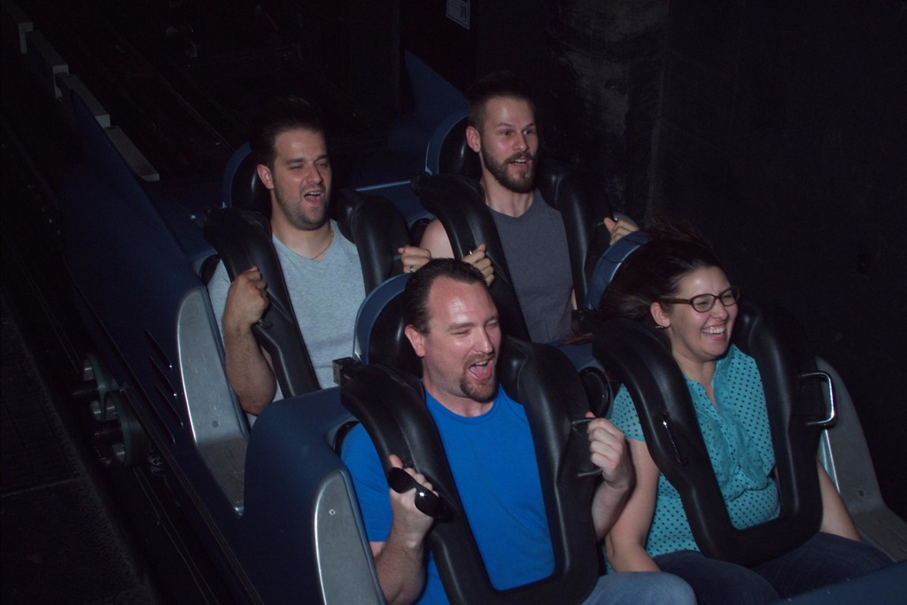 On Ride Photo at Rock n Roller Coaster, Disney's Hollywood Studios