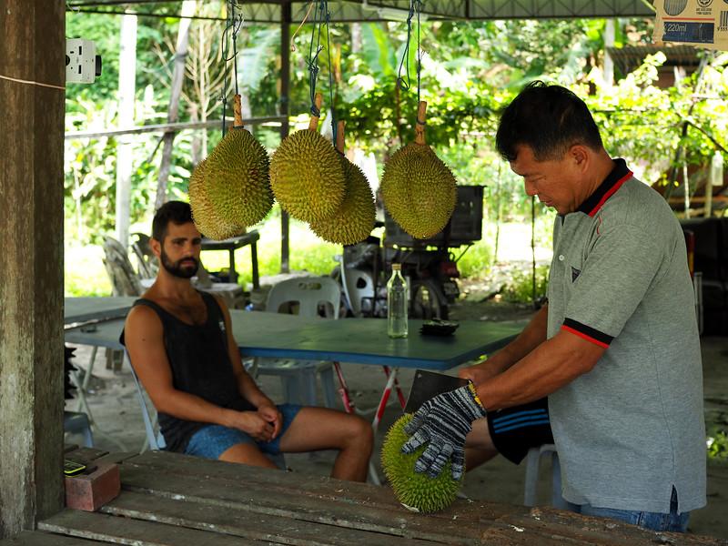 put-of-season durian in Penang