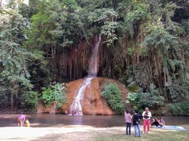 Phu Sang National Park & Hot Spring Waterfall