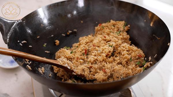 Lemongrass Chicken Fried Rice