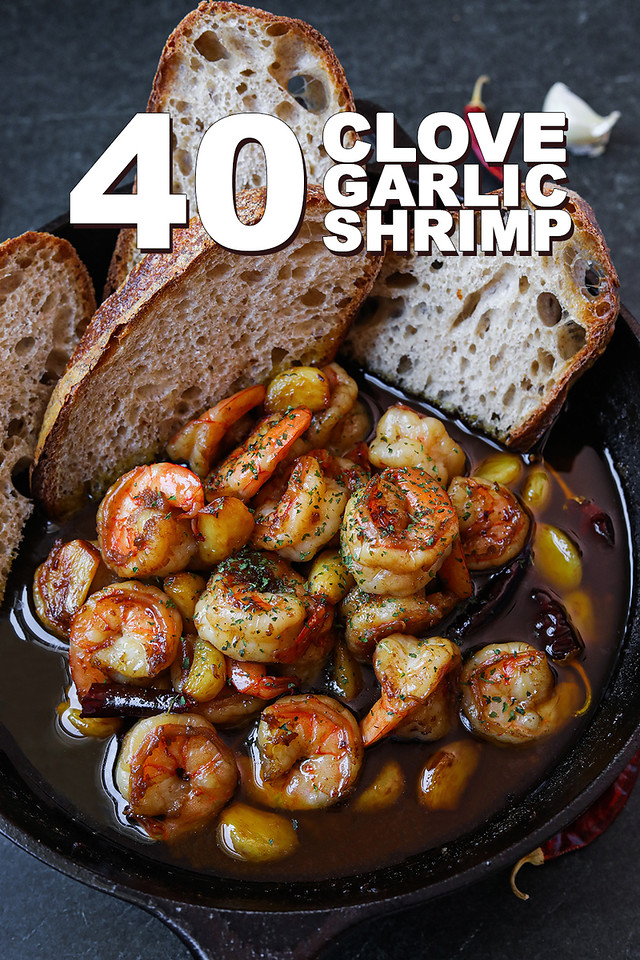 40 garlic shrimp