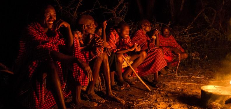 Traditional Maasai songs and dance.