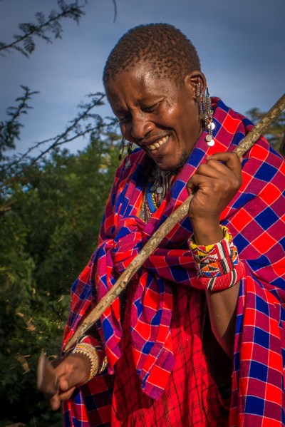 Salaton Ole Ntutu, Maasai warrior chief