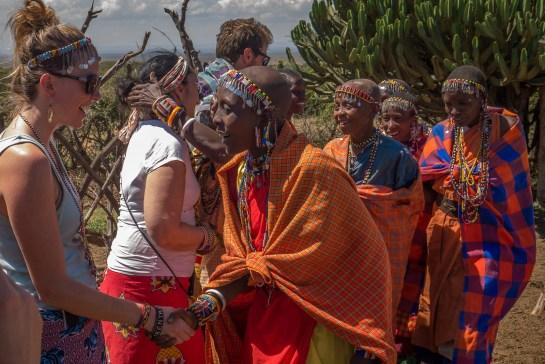 what it's like to meet Maasai women