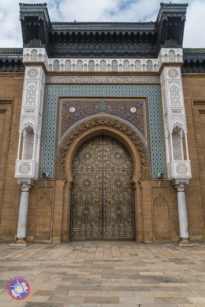 Main Entrance to the Royal Palace in Casablanca (©simon@myeclecticimages.com)