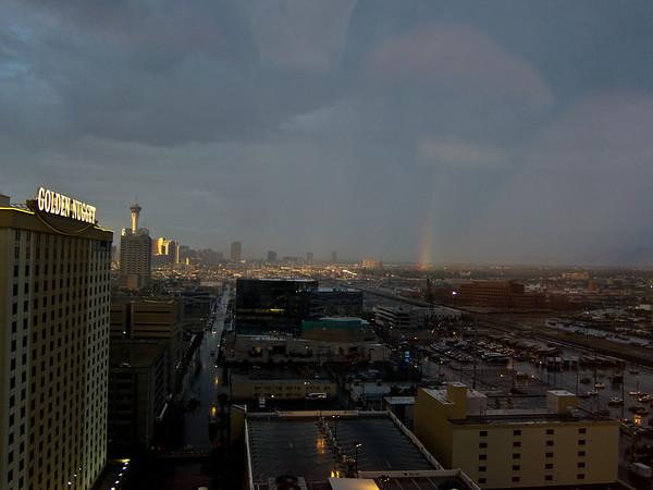 Rain in Vegas